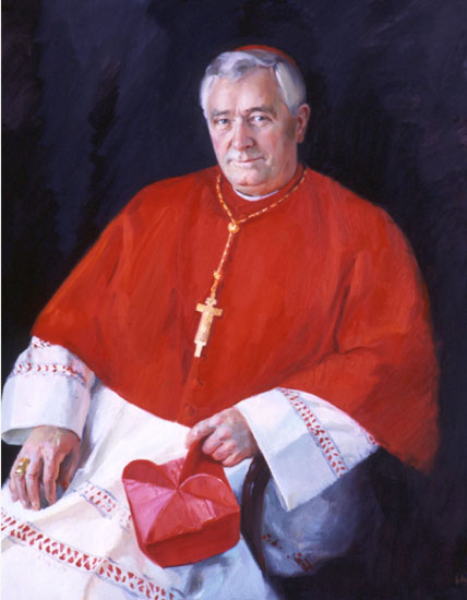 portrait of Cardinal Thomas Winning