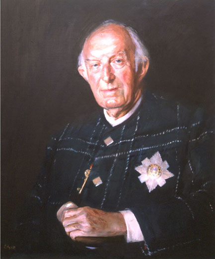 portrait of Fitzroy Maclean